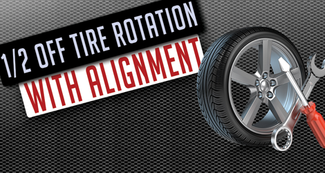 1/2 Off Tire Rotation